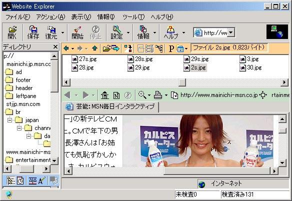 Website Explorer Shot1